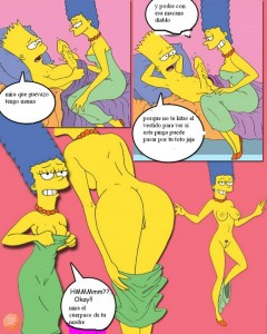 Los simpsons bart se follan a marge y lisa
