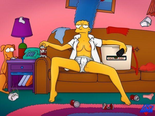 Video de trio de los Simpson
