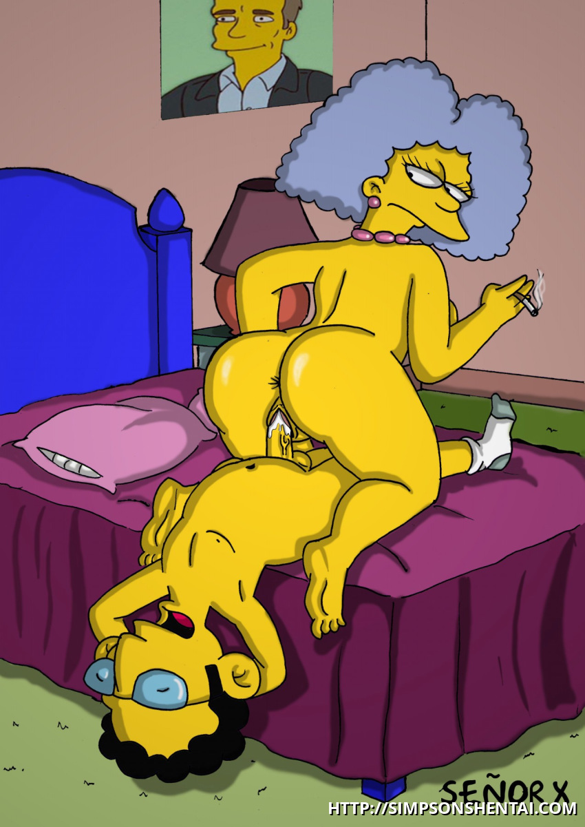 Marge Simpson Cine y Sexo
