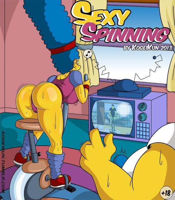 Marge hace un deporte muy diferente