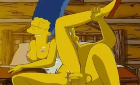 Video de Marge follando con homer