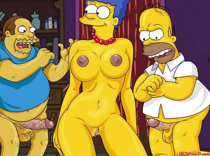 Video porno de los Simpson