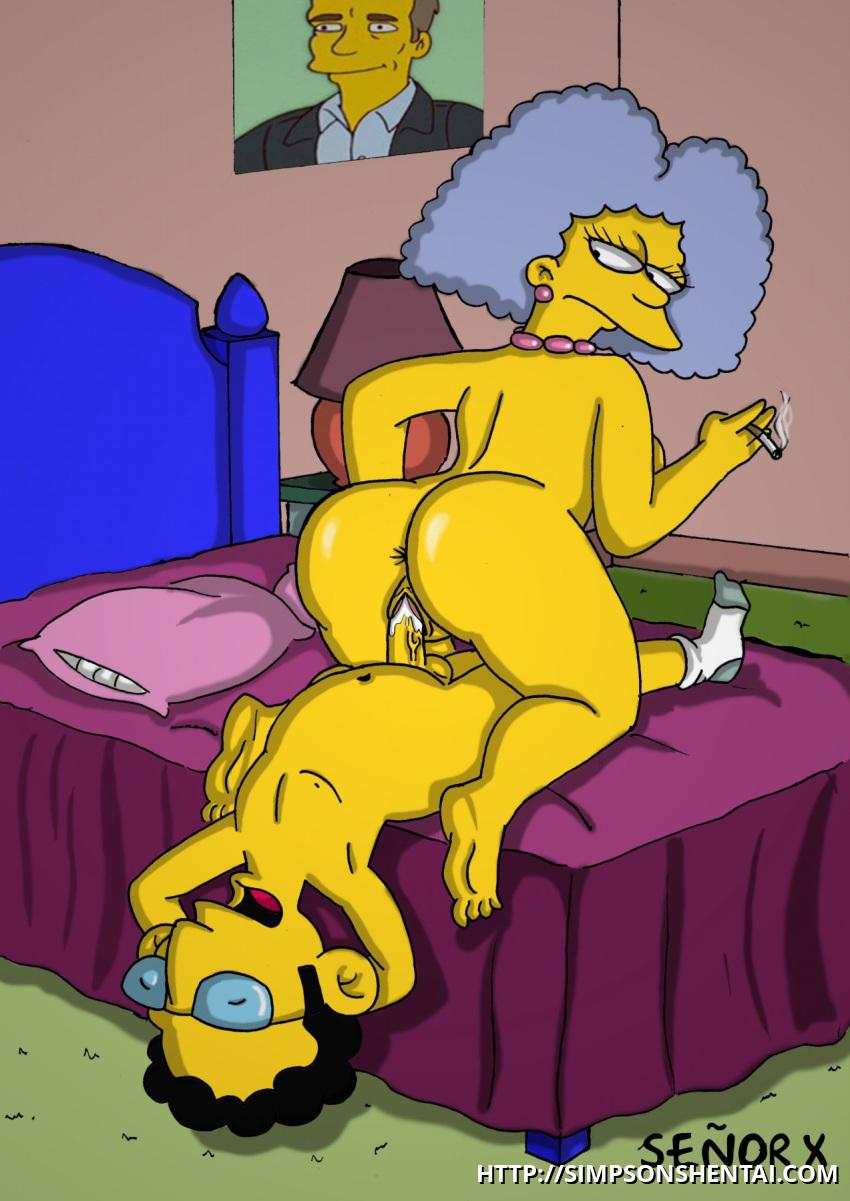 Porno con Selma Bouvier simpson