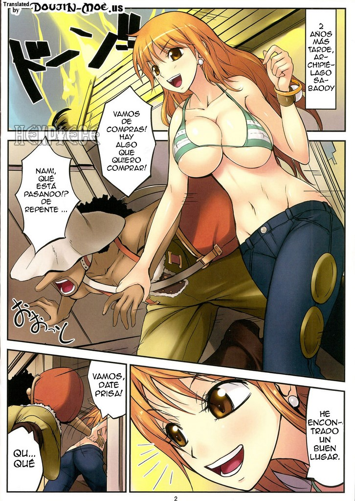 2y One Piece Hentai