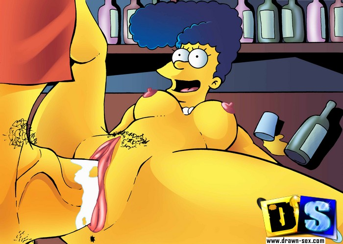 Marge Simpsons sexo duro en imagenes xxx