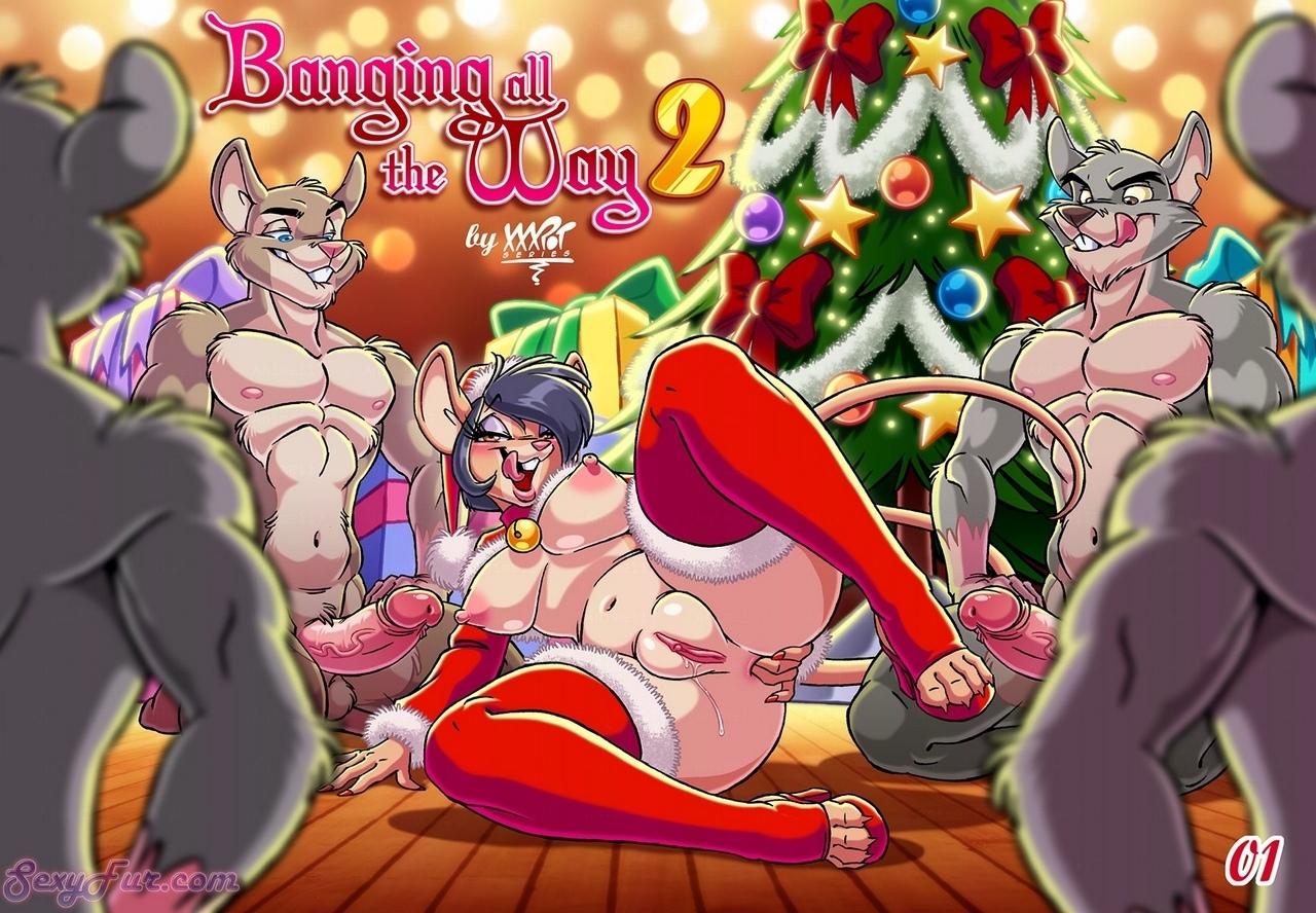 furry navideño