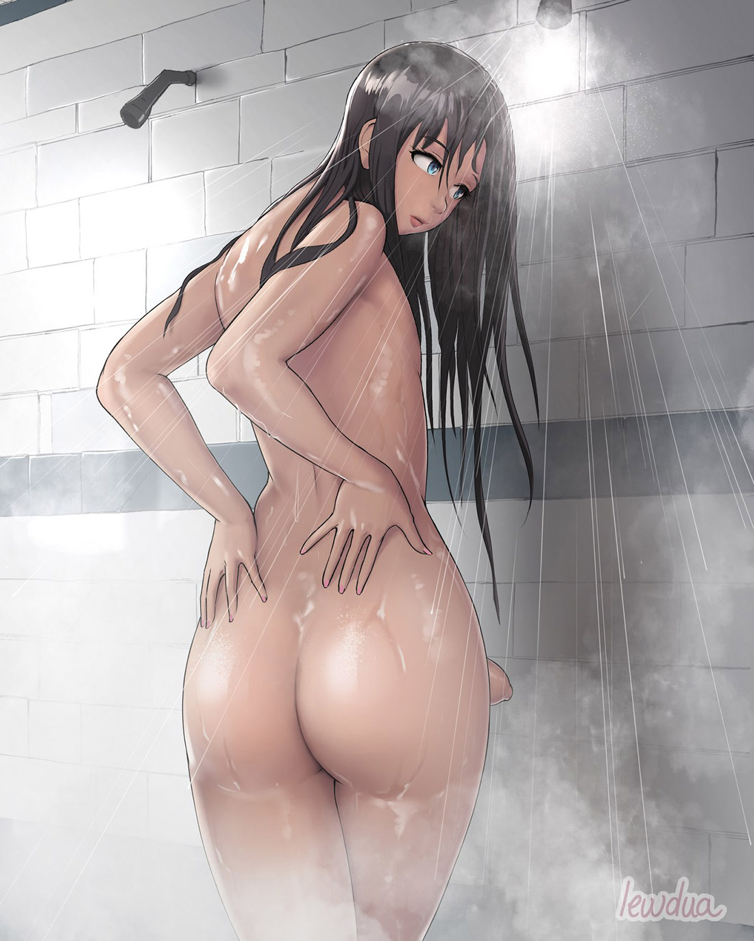 Alice in the Shower [Lewdua] comic
