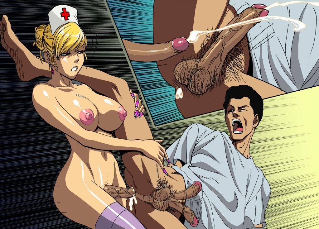 enfermera travestida